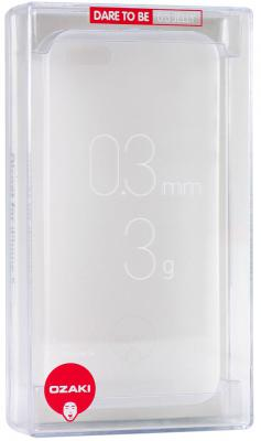 Накладка Ozaki Ocoat 0.3 JELLY для iPhone 5 iPhone 5S прозрачный OC533TR