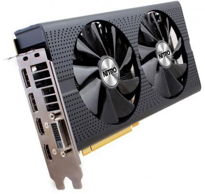 Видеокарта 8192Mb Sapphire RX 470 OC NITRO PCI-E HDMI DP DVI 11256-02-20G Retail