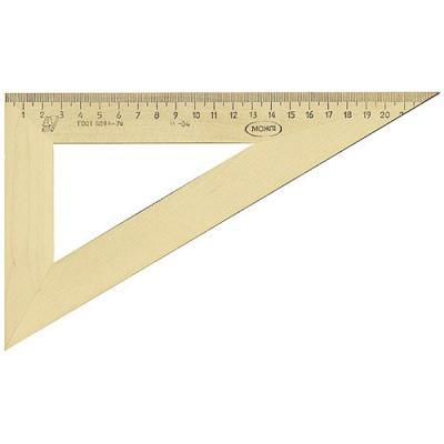 Треугольник деревянный, 30*, 23 см, со штрихкодом С 137/ШК