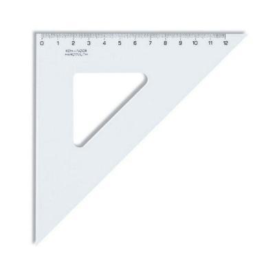 Треугольник Koh-i-Noor 745438 14.1 см пластик