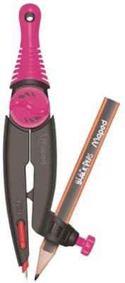 Циркуль STOP&SAFE с пластик.штангами,безопасной иглой,с грифелем|1 192610