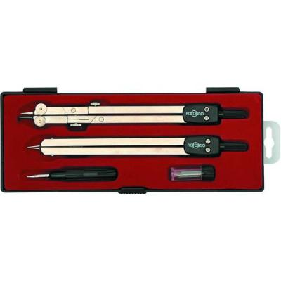 Готовальня, 4 предмета, с европодвесом 82211 готовальня rotondo 3 предмета с евпоподвесом 85600