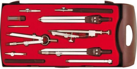 Готовальня, 11 предметов, с евпоподвесом 84310 готовальня rotondo 3 предмета с евпоподвесом 85600