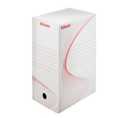 Короб архивный BOXY, 150 мм, 345х150х245 мм, белый 128602