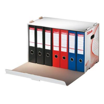Короб архивный ESSELTE для папок-регистраторов 10964 короб архивный esselte standart 128910 картон с крышкой