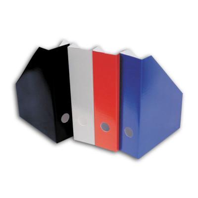 Накопитель для бумаг вертикальный, 70 мм, картонный, ассорти