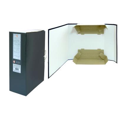Короб архивный цельнокроенный ДЕЛО на 2-х завяз.,разборный, SPONSOR, бумвинил, 100 мм SBA-100 0 pr на 100