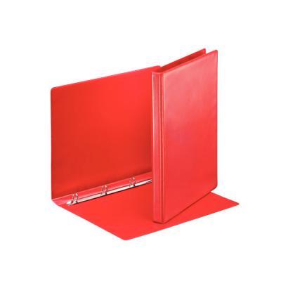 Папка на 4 кольцах ESSELTE ПАНОРАМА, 51мм, D 30 мм, красный 49713
