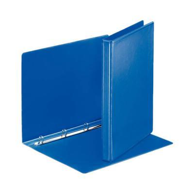 Папка на 4 кольцах ESSELTE ПАНОРАМА, 38 мм, D 20 мм, синий 49757