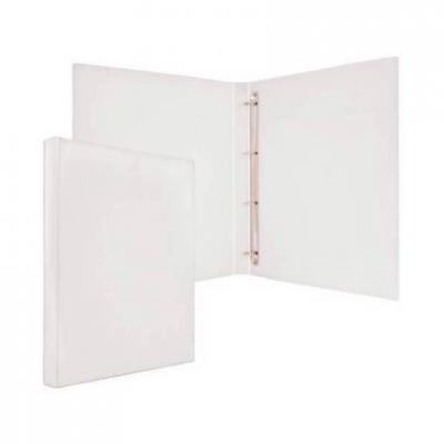 Папка-файл на 4 кольцах, белая, PVC, 25 мм, диаметр 16мм 08-2720-2/БЕЛ механизм сливной alca plast a08