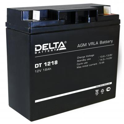 Батарея Delta DT 1218 18Ач 12B delta battery dt 1207 12v 7ah