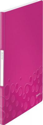 Книга с 20 карманами LEITZ WOW, розовый 46310023