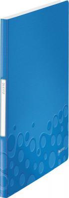 Книга с 20 карманами LEITZ WOW,синий 46310036