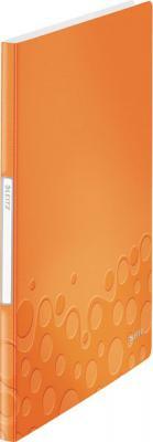 Книга с 20 карманами LEITZ WOW,оранжевый 46310044