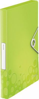 Книга с 20 карманами LEITZ WOW,зеленый 46310064