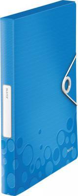 Книга с 40 карманами LEITZ WOW,синий 46320036