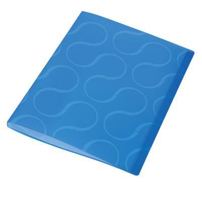 Папка с файлами OMEGA, 20 файлов, цвет синий, материал полипропилен, плотность 450 мкр 0410-0032-03