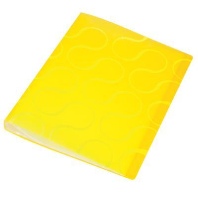 Папка с файлами OMEGA, 20 файлов, цвет желтый, материал полипропилен, плотность 450 мкр 0410-0032-06 механизм сливной alca plast a08