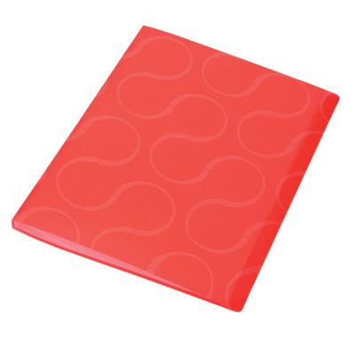 Папка с файлами OMEGA, 40 файлов, цвет красный, материал полипропилен, плотность 450 мкр 0410-0033-05
