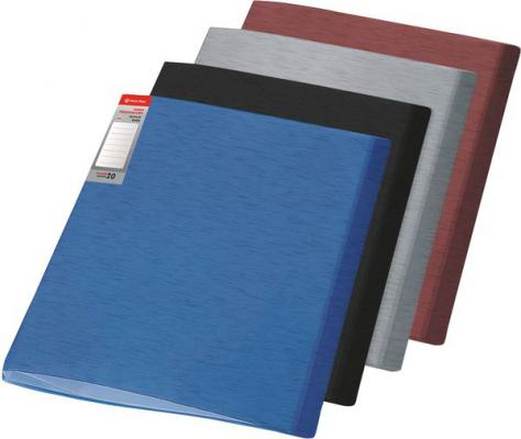 Папка с файлами SIMPLE, ф.А4, 10 файлов, черный, материал PP, плотность 450 мкр 0410-0054-01