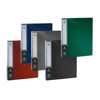 Папка с 100 файлами, форзац, ф.А4, ассорти SDB100/ASS папка с 20 файлами форзац ф а4 ассорти sdb20 ass spec 1