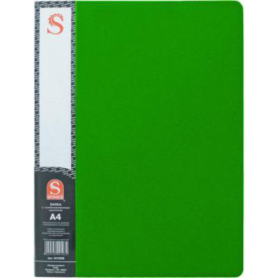 Папка с 20 файлами, форзац, ф.А4, зеленая SDB20/GN папка с 20 файлами форзац ф а4 ассорти sdb20 ass spec 1