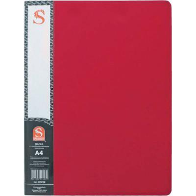 Папка с 20 файлами, форзац, ф.А4, красная SDB20/RD папка с 20 файлами форзац ф а4 ассорти sdb20 ass spec 1