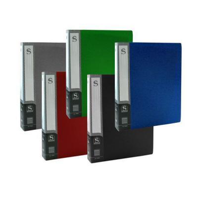 Папка с 60 файлами, форзац, ф.А4, ассорти SDB60/ASS