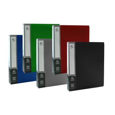Папка с 80 файлами, форзац, ф.А4, ассорти SDB80/ASS