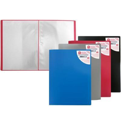 Папка с 10 файлами, форзац, ф. А 4, ассорти SDB10/ASS/SPEC-1