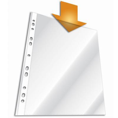 Вкладыш с перфорацией, глянцевый, 60 мкм, формат А4, 10 шт. Количество в блоке:10 Количество в коробке:100 2662-19