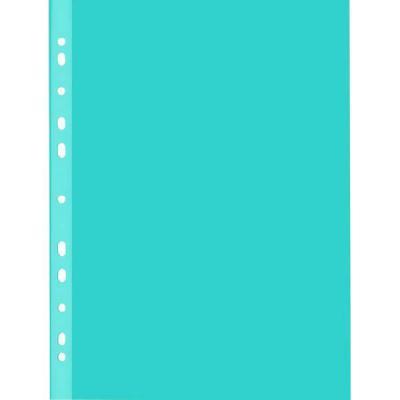 Вкладыш с перфорацией, ф. A4, 50 шт., синий, 55 мкр 402/50C