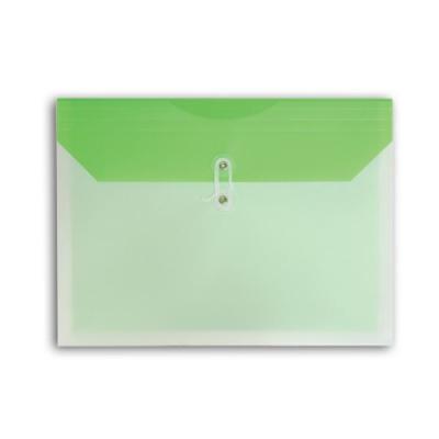 Папка-конверт COLOURPLAY, на завязках, 0.18мм, ассорти 5 цветов ICPF117