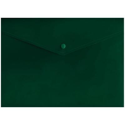 Папка-конверт с кнопкой, зеленый, A4 IPF371/GN IPF371/GN