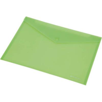 Папка-конверт на кнопке FOCUS, ф.220x110 мм, розовый, материал PP, 120 л., плотность 160 мкр 0410-0037-13