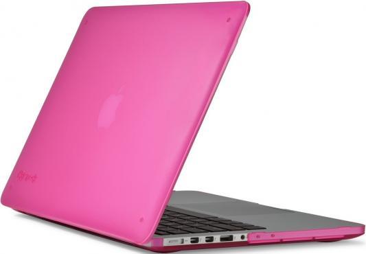 """Чехол для ноутбука MacBook Pro 13"""" Speck SeeThru пластик розовый 71576-B198"""