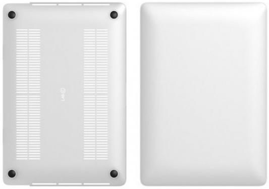 """Чехол-накладка для ноутбука 12"""" LAB.C Macbook 12"""" пластик прозрачный матовый LABC-446-CR"""