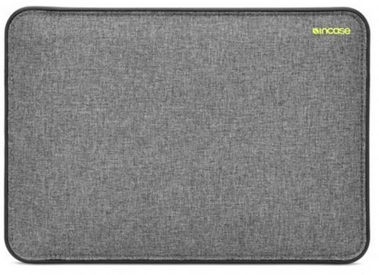 Чехол для ноутбука MacBook Pro 13 Incase Icon неопрен черный серый CL60640 чехол для ноутбука macbook pro 13 incase inmb100268 blk полиэстер нейлон черный