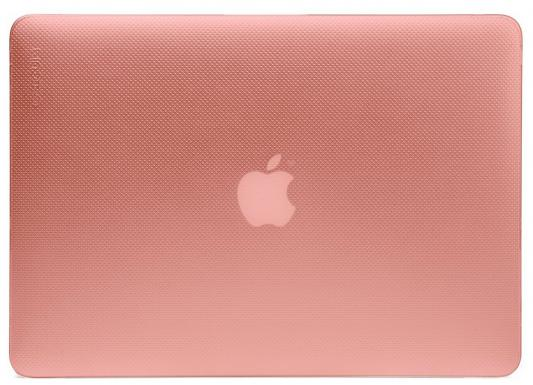 Чехол-накладка для ноутбука MacBook Pro 13 пластик светло-розовый CL90053