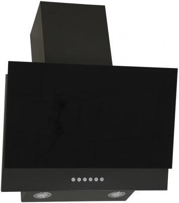 Вытяжка каминная Elikor Рубин S4 90П-700-Э4Г антрацит/черное стекло