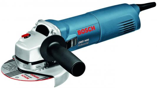 Угловая шлифмашина Bosch GWS 1400 1400Вт 125мм