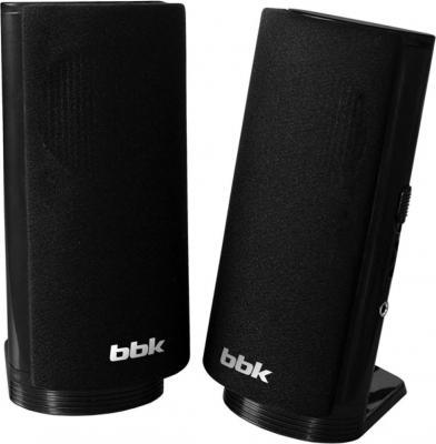 Колонки BBK CA-195S 2x3 Вт черный