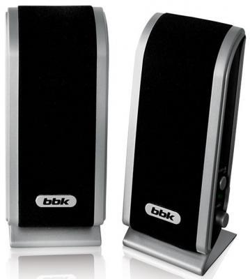 Колонки BBK CA-192S 2x3 Вт черно-серебристый