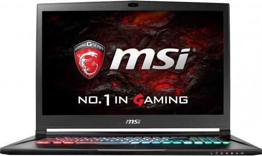 """Ноутбук MSI GS73VR 6RF-037RU Stealth Pro 17.3"""" 1920x1080 Intel Core i7-6700HQ 9S7-17B112-037"""
