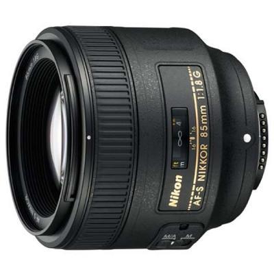 Объектив Nikon 85mm f/1.8G AF-S Nikkor JAA341DA цена и фото