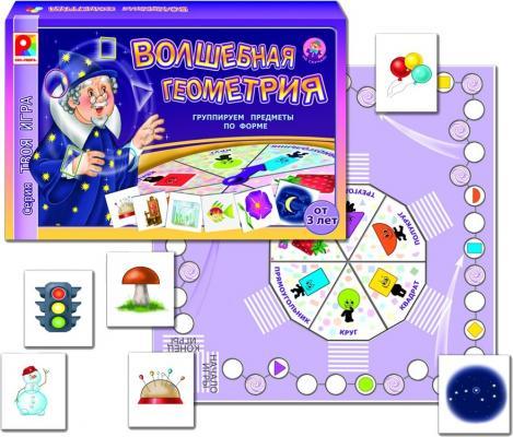 Настольная игра Радуга развивающая Твоя игра Волшебная геометрия С-594 игра настольная развивающая для детей радуга тренажер обучение грамоте