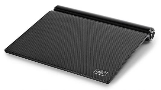 """Подставка для ноутбука 17"""" Deepcool M5 180x180x15mm 2xUSB 26.3dB черный"""