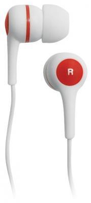 Наушники BBK EP-1260S бело-красный