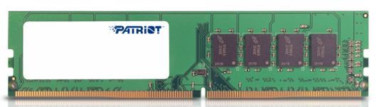Оперативная память 8Gb PC4-17000 2133MHz DDR4 DIMM Patriot PSD48G213381 цена и фото