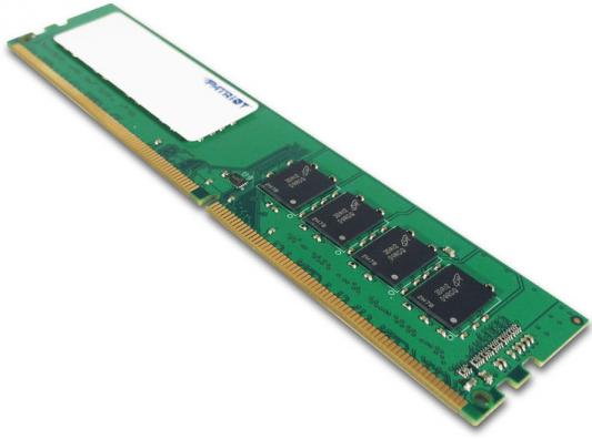 Оперативная память 8Gb (1x8Gb) PC4-19200 2400MHz DDR4 DIMM CL17 Patriot PSD48G240081 модуль оперативной памяти пк patriot psd48g213382h psd48g213382h